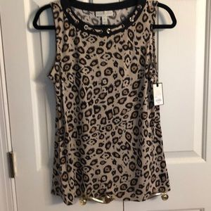 Animal print Size Small- sleeveless top